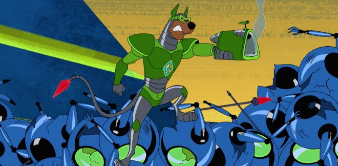 Cyborg Scooby and Shaggy Fight - Scooby-Doo and Guess Who?