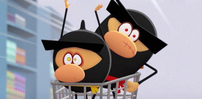 Caos no supermercado - Ninja Express