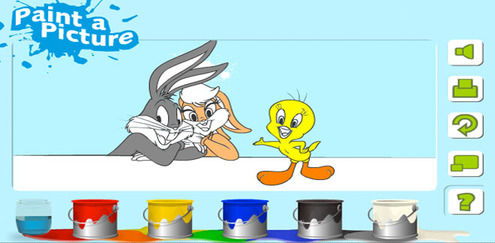 Looney Tunes - Painting Game