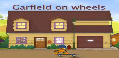 The Garfield Show - Garfield on Wheels