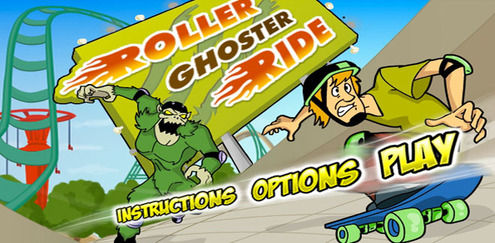 Scooby Doo - Roller Ghoster Ride