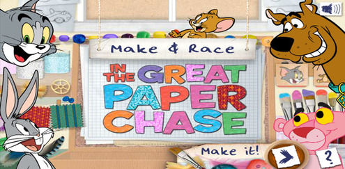 Tom and Jerry - The Great Paper Chase