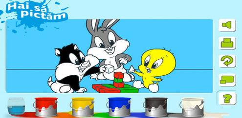 Baby Looney Tunes - Hai să pictăm
