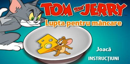 Tom şi Jerry - Lupta pentru mâncare