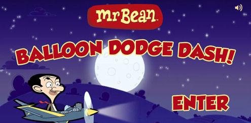 Ballongfangst! | Mr Bean spill | Boomerang