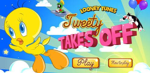 Looney Tunes - Tweety Takes Off