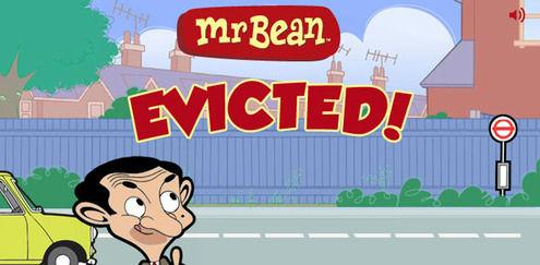 Smidt ud | Mr Bean spil | Boomerang
