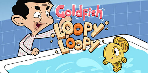 """Spela de senaste Mr Bean-spelet """"Guldfiskhopp"""" nu på Boomerang! Kasta guldfisken igenom ringarna för att samla poäng och för att få Mr Bean att fnissa. Men var försiktig, du har bara tre livlinor och tiden rinner ut fort. Kolla i """"Gulfiskhopp"""" och många andra spel på Boomerang."""