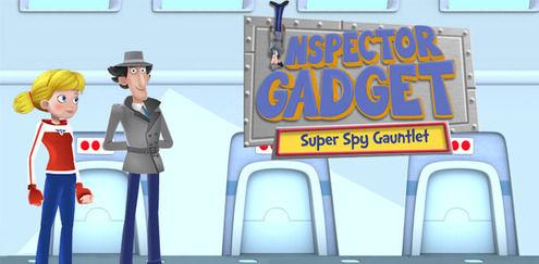 Inspector Gadget - Super Spy Gauntlet