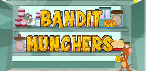 Tom and Jerry - Bandit Munchers