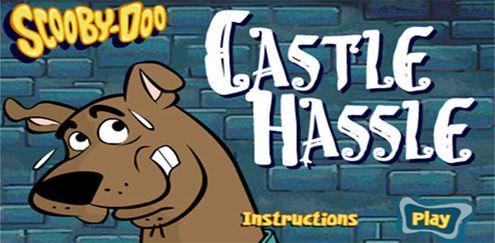 Jakten i slottet | Scooby Doo spill