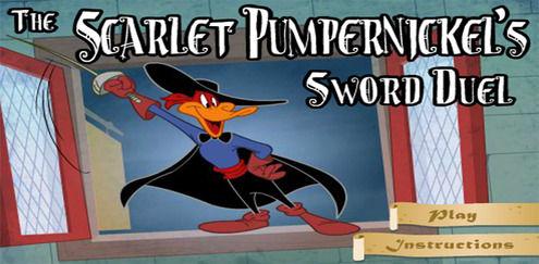 Looney Tunes - The Scarlet Pumpernickel's Sword Duel