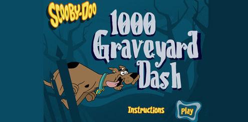 Kirkegård Dash | Scooby Doo spill