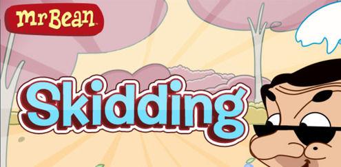 Skidding | Mr Bean spel | Boomerang