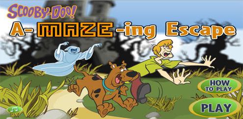 Fan-tas-tisk flykt | Scooby Doo spel