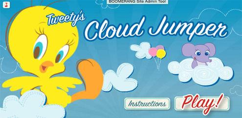 Pip hopper på skyer | Looney Tunes spil | Boomerang