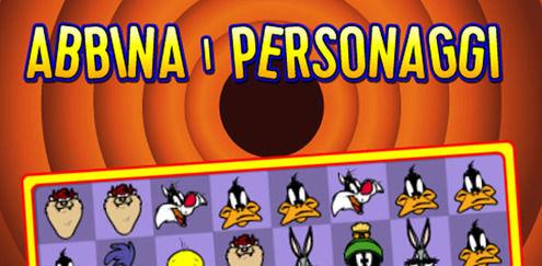 Looney Tunes - Abbina i personaggi