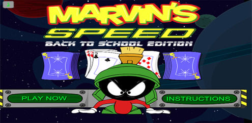 Looney Tunes - Marvin's Speed Back To School Edition
