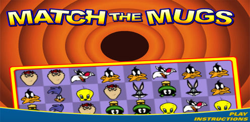 Looney Tunes- Match the Mugs