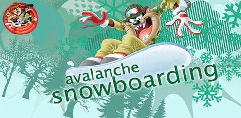 Looney Tunes - Avalanche Snowboarding