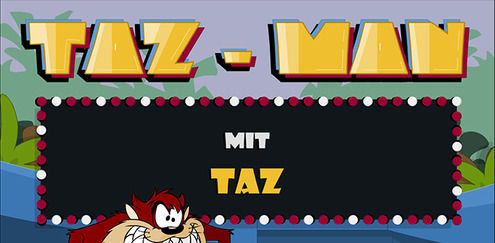 Looney Tunes - Taz-Man