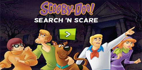 Sök o' skrämd | Scooby Doo spel