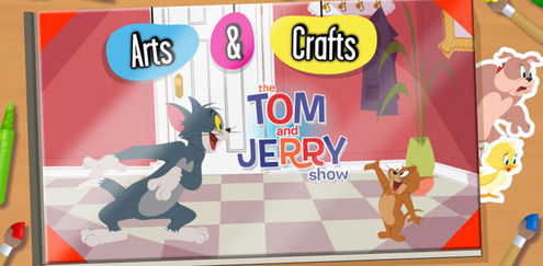 Tom and Jerry - Arts and Crafts: Tom And Jerry