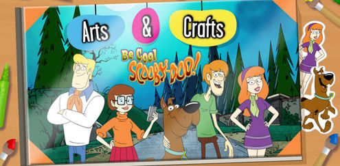 Be Cool Scooby-Doo - Arts and Crafts: Be Cool Scooby-Doo