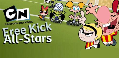 The Powerpuff Girls - Free Kick All Stars