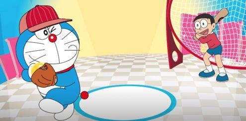 Doraemon - Doraemon Crazy Baseball