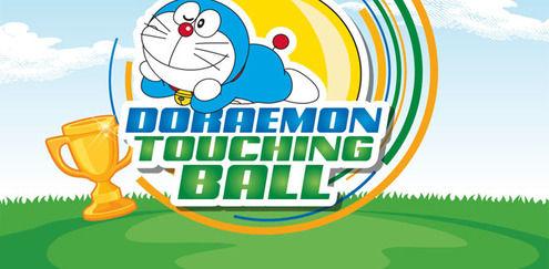 Doraemon - Doraemon Touching Ball