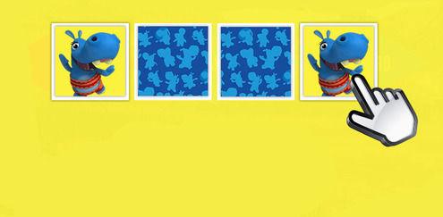 Speel het spelletje memory van The Happos Family en andere gratis online spelletjes op Boomerang