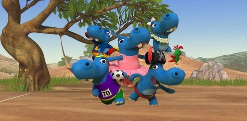 Dă testul despre The Happos Family de la Boomerang pentru a afla cu care hipopotam ți-ar plăcea să te împrietenești!