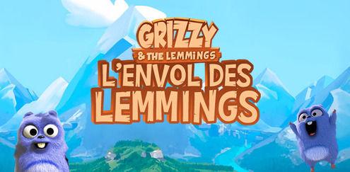 Grizzy et les Lemmings - L'envol des Lemmings