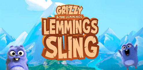 Grizzy and the Lemmings - Lemmings Sling