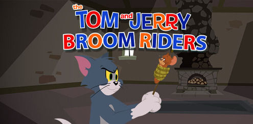 Tom and Jerry - Broom Riders