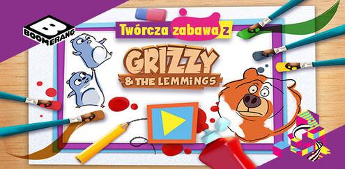 Twórcza zabawa z... Grizzy'm i lemingami