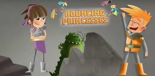 My Knight and Me - Bouncing Princesses