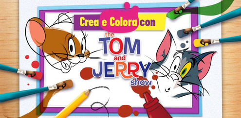 Crea e Colora con... Tom & Jerry