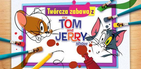 Twórcza zabawa z... Tomem i Jerry'm