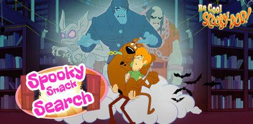 Skummelt snackssøken | Du er kul, Scooby Doo spill