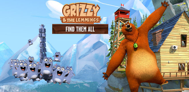 Grizzy and the Lemmings - Find Them All