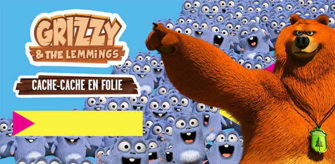 Grizzy et les Lemmings - Cache-Cache en Folie