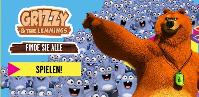 Grizzy und die Lemminge - Finde sie alle