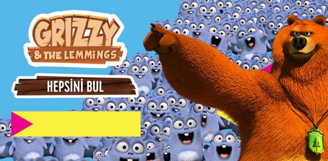 Grizzy ve Lemmingler - Hepsini Bul