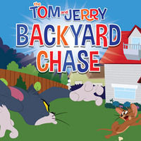 Backyard Chase | Tom and Jerry Games | Boomerang