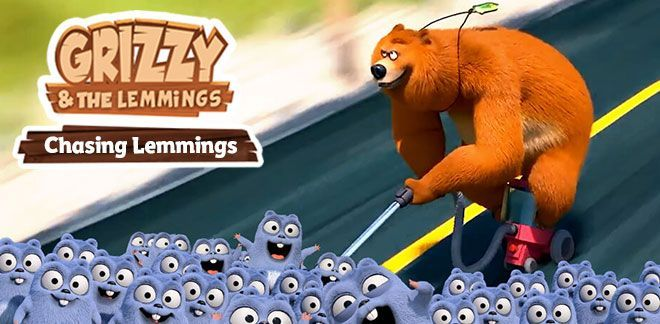 Grizzy and the Lemmings - Chasing Lemmings