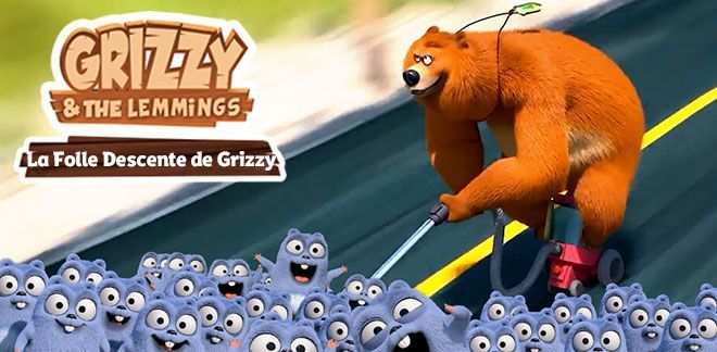 Grizzy et les Lemmings La Folle Descente de Grizzy