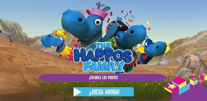 Colorea los Videos  - The Happos Family