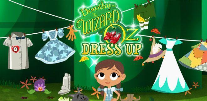 Dorothy och Trollkarlen från Oz -  Klä på